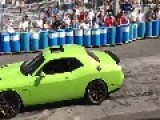 Dodge Challenger 707HP SRT Hellcat Burnout