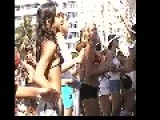 Dance And Exercise Class Copacabana Beach Brazil