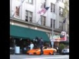 Douchebag Jumps Over Lamborghini Murcielago With BMX