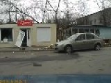 Dashcam Mariupol After Attack