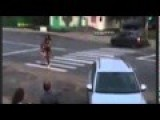 Distracted Driver Crashes Car While Staring At Prostitutes