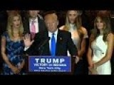 Donald Trump's Indiana Victory Speech