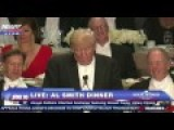 Donald Trump Roasts Hillary Clinton At 2016 Al Smith Dinner