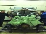 Diesel Engine Test Goes Wrong