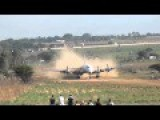 DC6 Landing On A Grass Strip In Pretoria