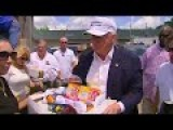 Donald Trump Hands Out Supplies To Louisiana Flood Victims 8 19 16