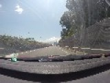 Driving On Spanish Highway