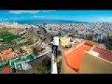 Danny MacAskill Cycles Across Rooftops In Gran Canaria