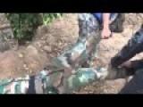 Dead Saa Soldier In Deir-Ezzor