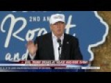 Donald Trump Speaks At 'Roast And Ride' Event In Des Moines, IA 8 27 16