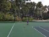 Dad Kicks Soccer Ball Into Son's Face