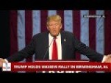 Donald Trump Tells Black Lives Matter Protester To Get The Hell Out Birmingham, AL