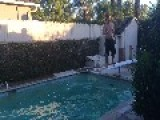 Diving Board Accident!