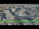 Drone Footage Of Syrian Army Operations In The Industrial Zone Of Al-Layramoun In Aleppo City