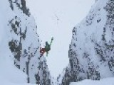 Daring Descent For Norwegian Skier