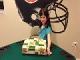 Dad Pranks Chicago Bears Fan Daughter With Packers Jersey