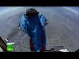 Daredevil Braves 2000 Meter High Jump In Wingsuit Over Santiago