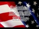 Declaration Of Orders Oath Keepers Will Not Obey