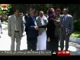 Deposed Yemeni President Ali Saleh Buys $100,000 Jaguar- Moment Of Happy Delivery