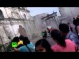 Devastating Video Of Church Crumbling As Deadly Earthquake Hits Philippines