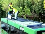 Driving A Garden On Wheels Garden Bus