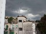 Dark Clouds In Naples, Italy