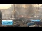 Day Of Dignity And Freedom. Ukraine Celebrates The Day They Threw Out The Failed Russian Junta