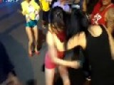 Drunk Asian Chicks Get Into A Bitch Fight