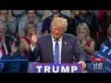 Donald Trump To Obama: YOU'RE FIRED - Raleigh, N.C