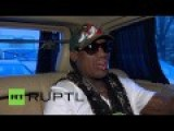 Dennis Rodman Says Putin Is Great Guy, Awesome Guy, Just Like Obama
