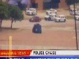 Dallas Police Car Chase Suspect Shoting In Standoff