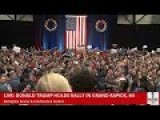 Donald Trump Speaks To Fired Up Crowd In Grand Rapids, MI