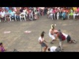 Drunk Guy Crashing Gay Mexican Carnival Dance Show