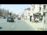 Dashcam Footage Of Shows A Woman Behind The Wheel