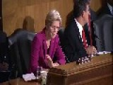 Elizabeth Warren Challenges Treasury Secretary Lew On Too Big To Fail