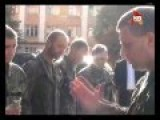 Eng Subs DPR Prime-Minister Zakharchenko Met Captive UA Troops Before Releasing Them Home