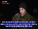 Eng Subs DPR PM Alexandr Zakharchenko Interview On The Streets Of Debaltesvo