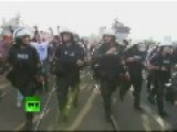 Euro 2012 - Brutal Clashes Between Russian & Poli 1ff8 Sh Fans In Warsaw