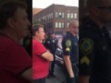 Ex-Chicago Cop Chews Out Asheville Police For Not Arresting Trump Fan Who Punc 2d08 Hed 69 Year Old Woman