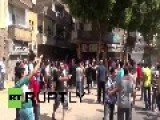 Egypt: Tear Gas Turned On Anti-Sisi Protesters In Cairo