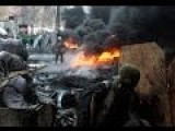 Extreme Heavy Clashes In Kiev