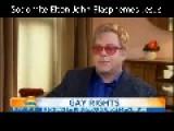 Elton John Calls Jesus Gay
