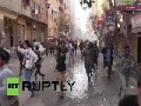Egypt: Violent Clashes Erupt In Giza