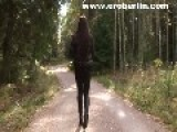 Eroberlin Lilu V Russian Teen Shiny Leggings Sexy Ass Long Legs And Hair