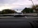 Erratic Driver Before Dramatic Crash