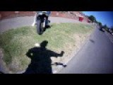 Easy Rider Wanted By Police - Cyclist Vs Biker Road Rage