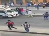 Ethiopian Africans Beat Up Jihad Funding Saudi Rats!