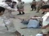 Egyptian Soldiers Beating Up Suspects In Sinai