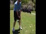 Epic Golf Swing FAIL