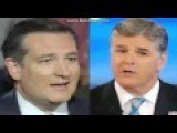 Even Sean Hannity Is Getting Sick Of Ted Cruz's Evasion And Bullshit